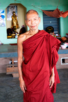 Monk in Saigang, Myanmar