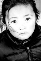 Little girl, Namche Bazaar, Nepal